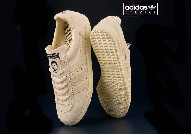 Liam Gallagher Adidas Spezial trainers