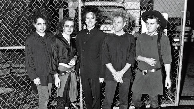The Cure at the 1989 MTV Video Music Awards