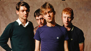 Blur in 1994: Alex James, Graham Coxon, Damon Albarn and Dave Rowntree