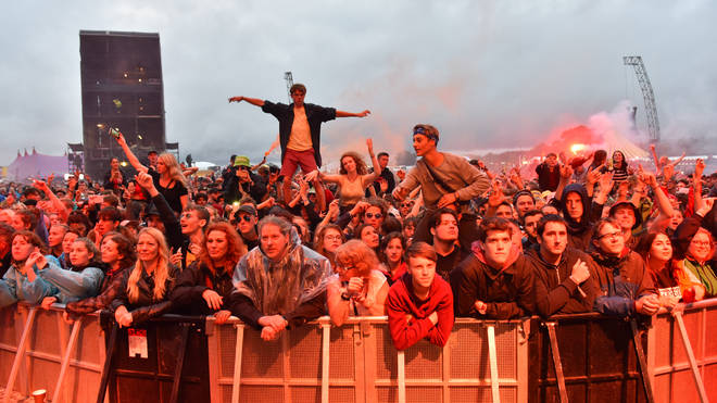 Reading & Leeds Festival crowds