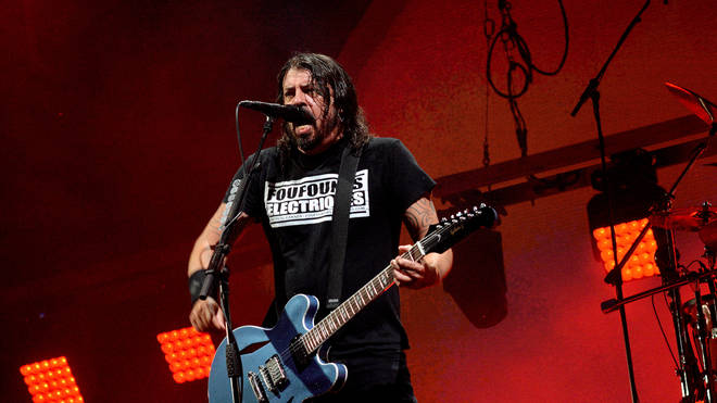 Foo Fighters' Dave Grohl at Sziget Festival 2019