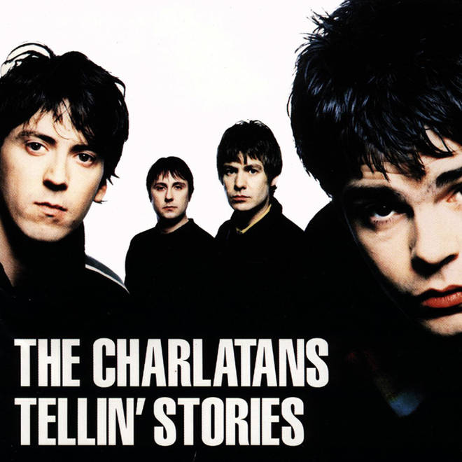 The Charlatans - Tellin' Stories album cover