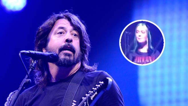 Foo Fighters frontman Dave Grohl and his daughter Violet