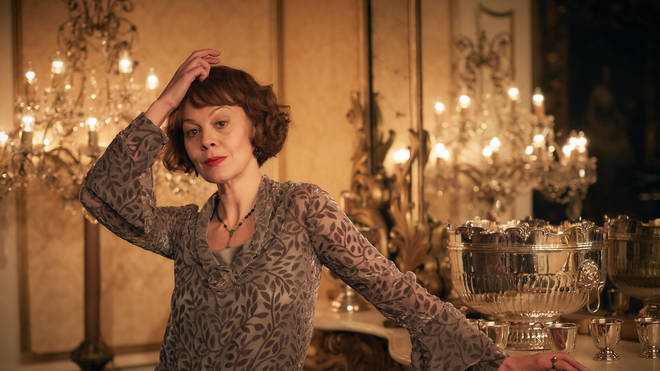 Helen McCrory plays Polly Gray in Peaky Blinders