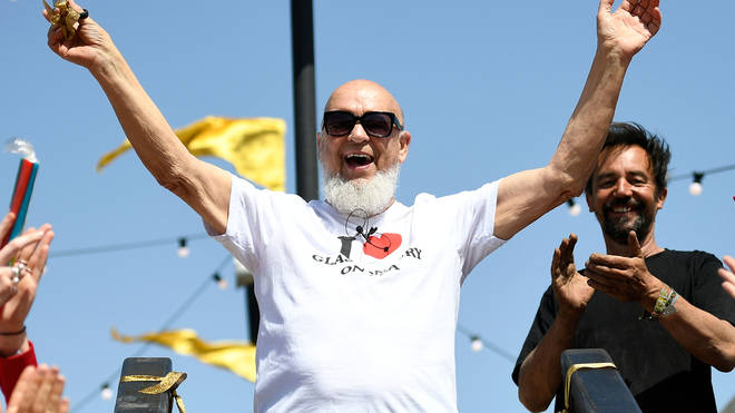Michael Eavis at Glastonbury 2019
