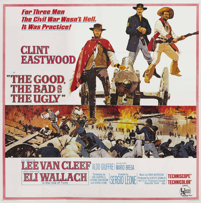 The Good The Bad And The Ugly poster, 1966