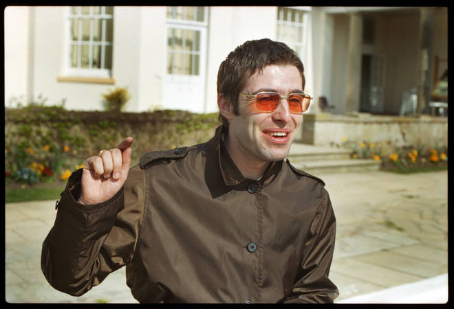 Liam Gallagher at Stocks House during the Be Here Now photo shoot