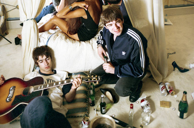 Oasis - outtake from Cigarettes And Alcohol cover