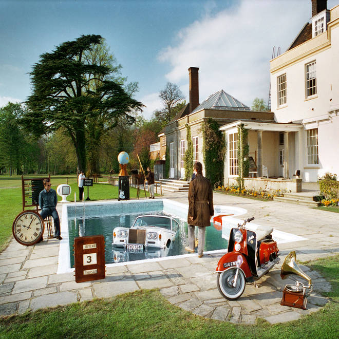 Oasis - Be Here Now album cover outtake
