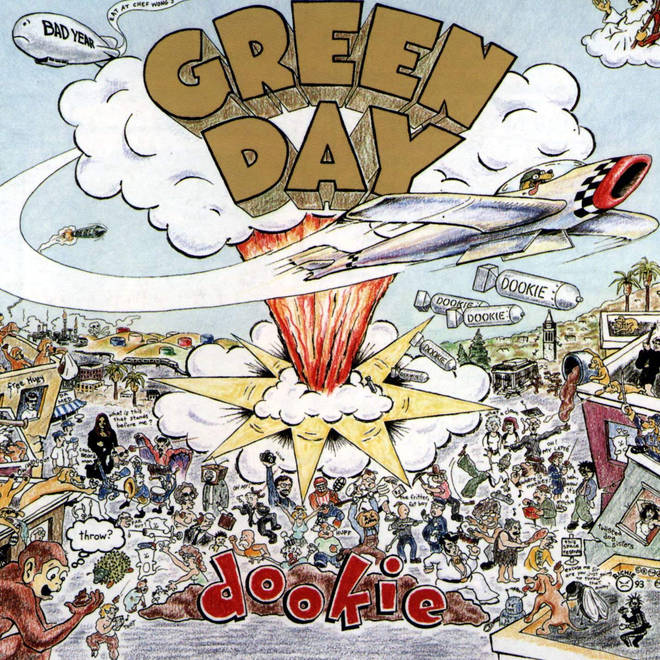 Green Day - Dookie album cover
