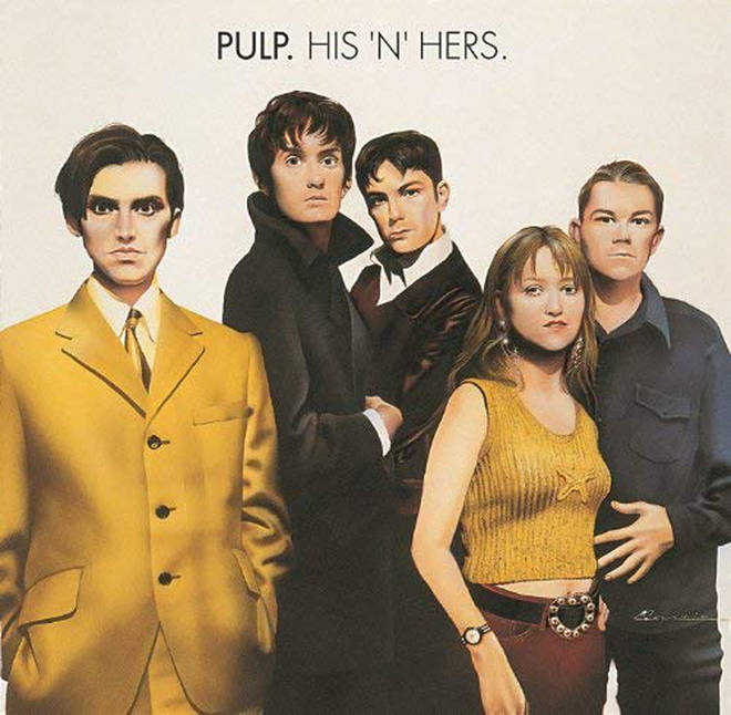 Pulp - His 'N' Hers album cover