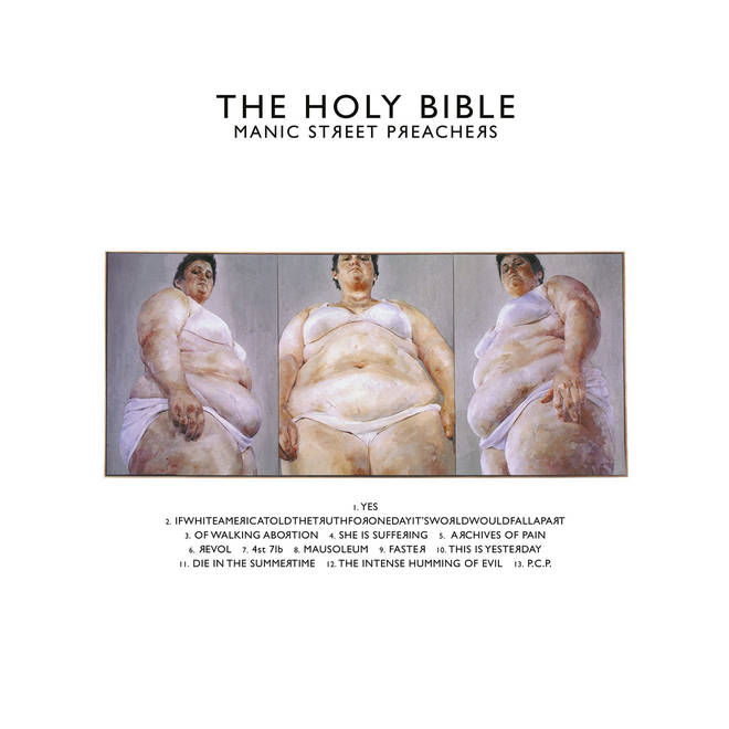 Manic Street Preachers - The Holy Bible album cover