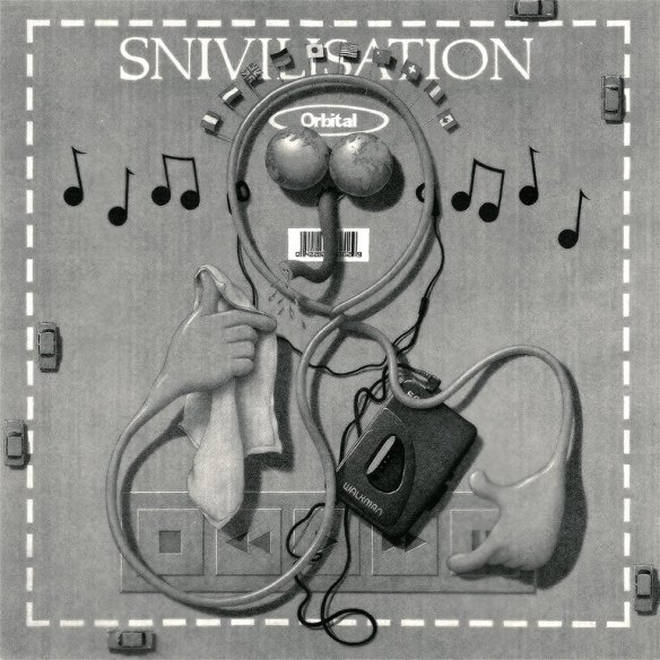 Orbital - Snivilisation album cover