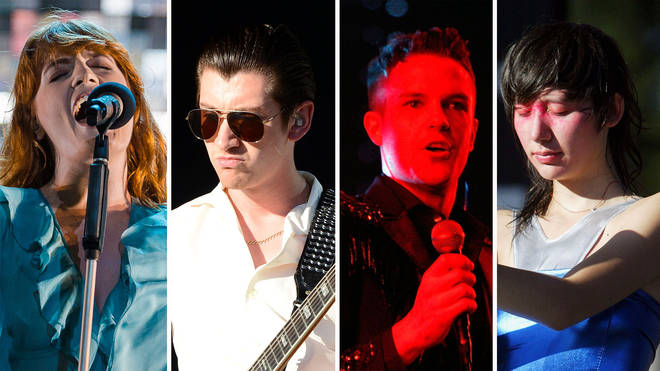 Florence Welch, Alex Turner, Brandon Flowers and Karen O