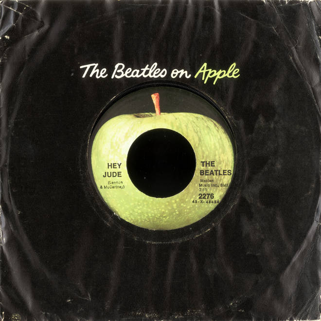 Hey Jude by The Beatles was released several days earlier in the US - on Monday 26 August 1968