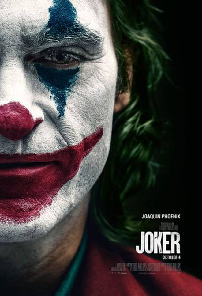 Jaoquin Phoenix in the latest poster for Joker