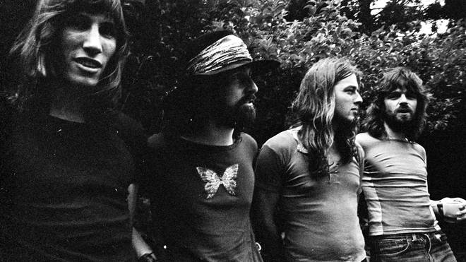 Roger Waters, Nick Mason, David Gilmour, Richard Wright of Pink Floyd,