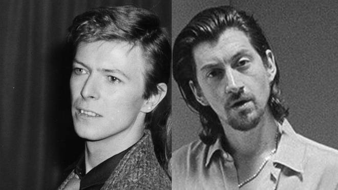 David Bowie and Alex Turner