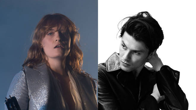 Florence Welch and James Bay