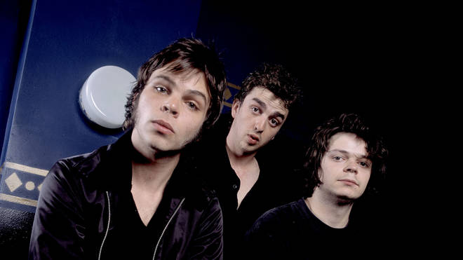 Gaz Coombes, Danny Goffey, Mick Quinn of Supergrass in the 90s