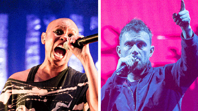 Skunk Anansie's Skin and Blur's Damon Albarn