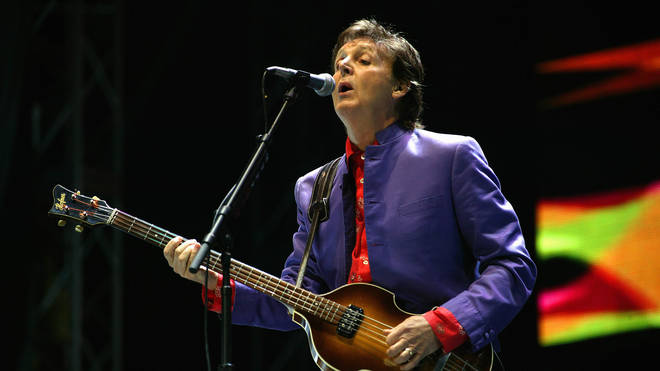 Paul McCartney live at Glastonbury 2004