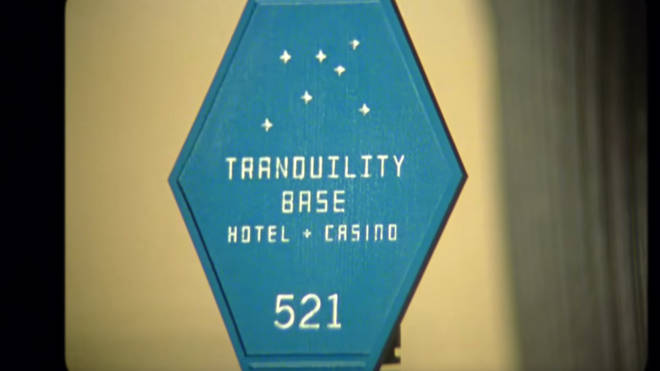 Hotel key in Arctic Monkeys' Four Out of Five video