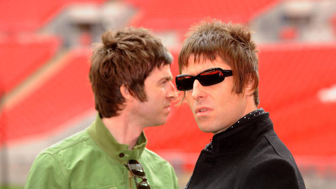 Oasis Liam and Noel Gallagher in 2008
