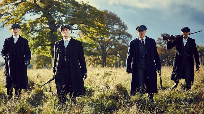 Peaky Blinders stars Harry Kirton, Cillian Murphy, Finn Cole and Paul Anderson