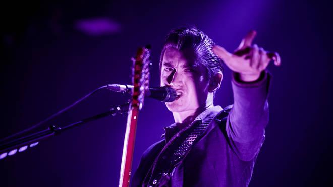 Arctic Monkeys frontman Alex Turner in 2013