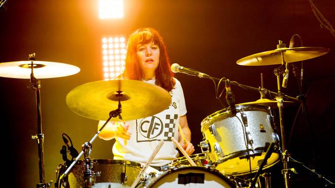 She smelt like Teen Spirit: Tobi Vail of Bikini Kill performing in London in 2019