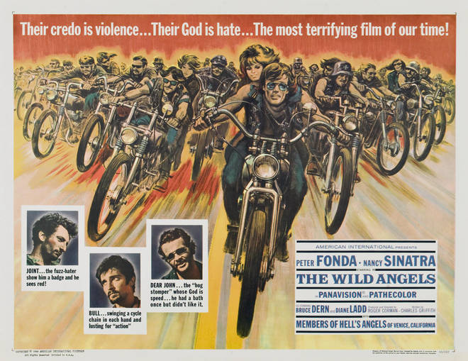 Poster for The Wild Angels, 1966