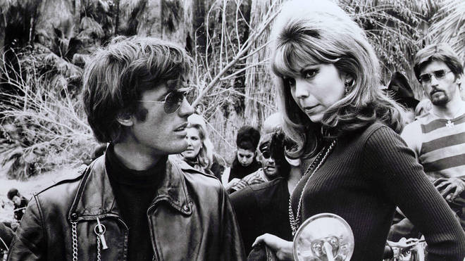 Peter Fonda and Nancy Sinatra in The Wild Angels, 1966