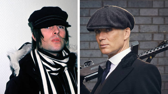 Liam Gallagher and Cillian Murphy in Peaky Blinders
