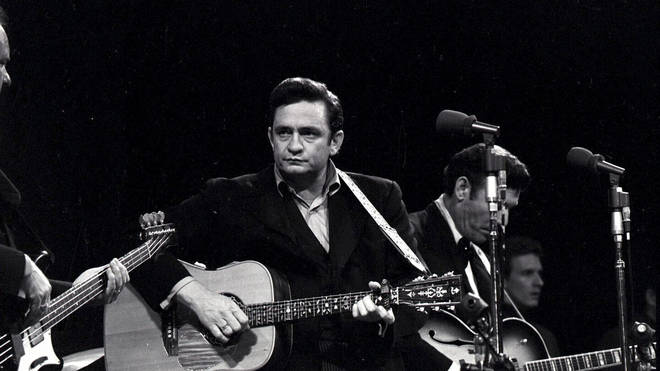 Johnny Cash live at San Quentin in 1969