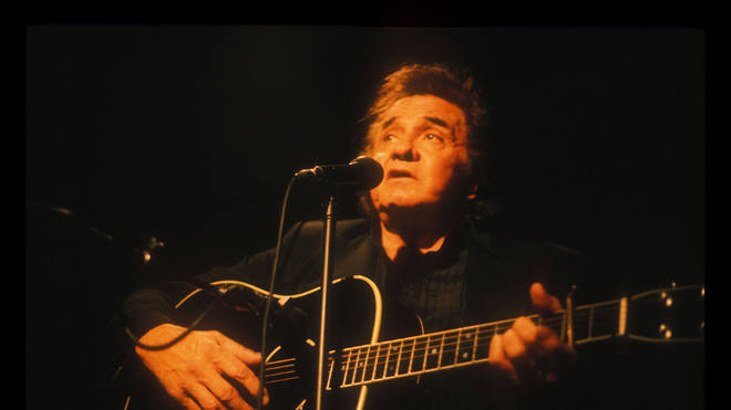 Johnny Cash live in 1994