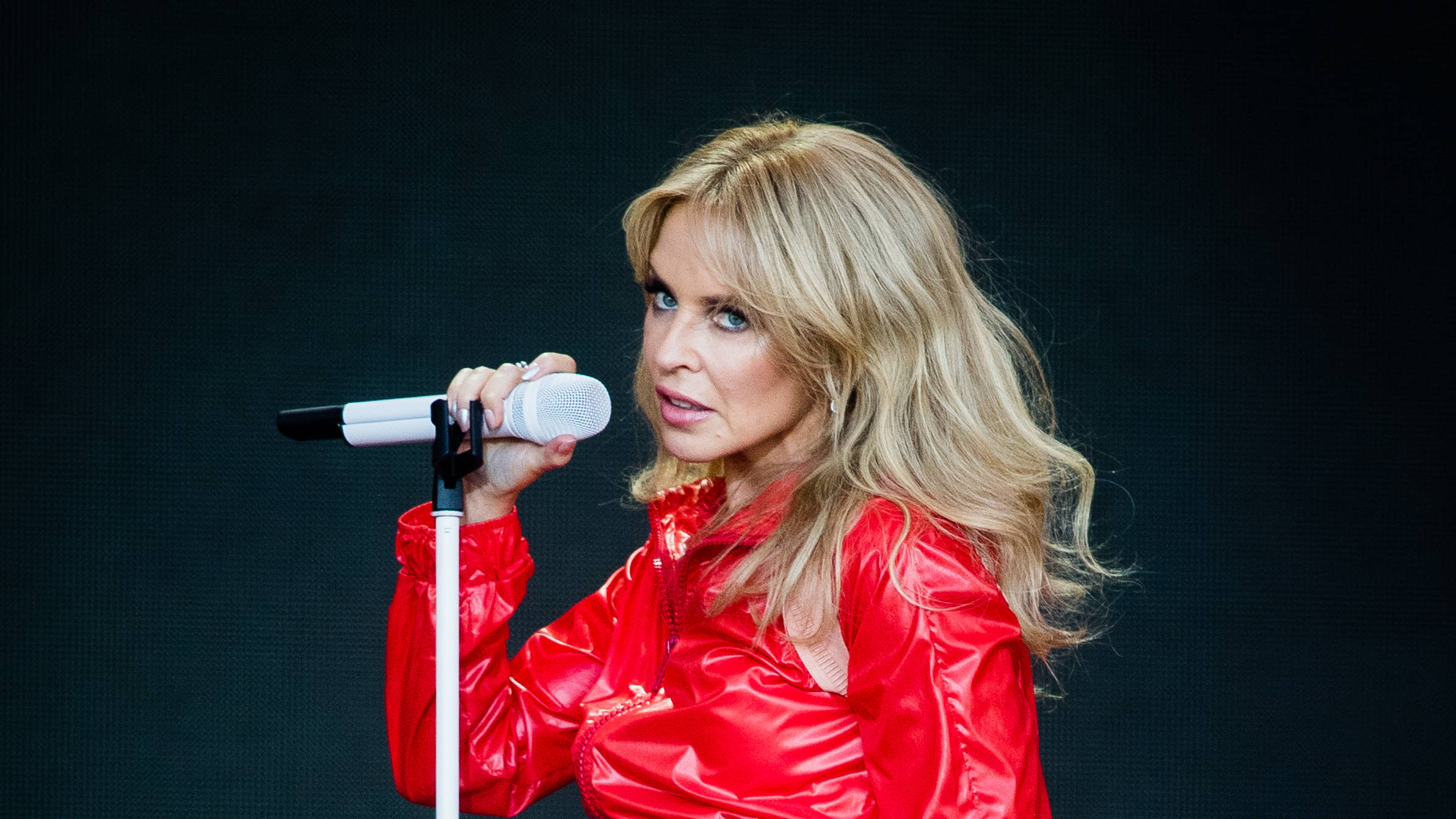 """Kylie Minogue: My Glastonbury performance was """"not good enough"""""""