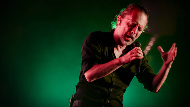 Thom Yorke Performs In Rome