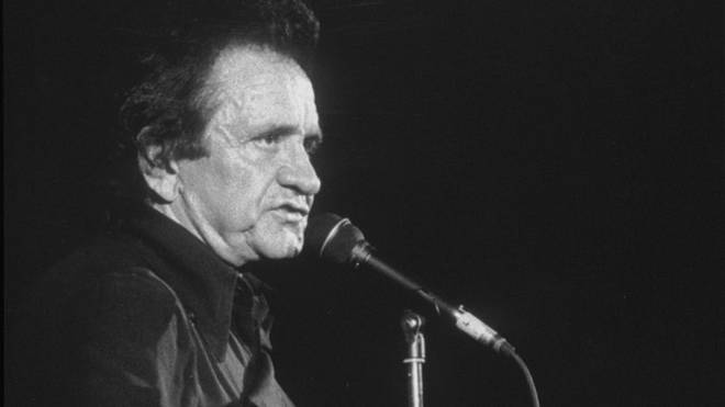 Johnny Cash live in London, 1991