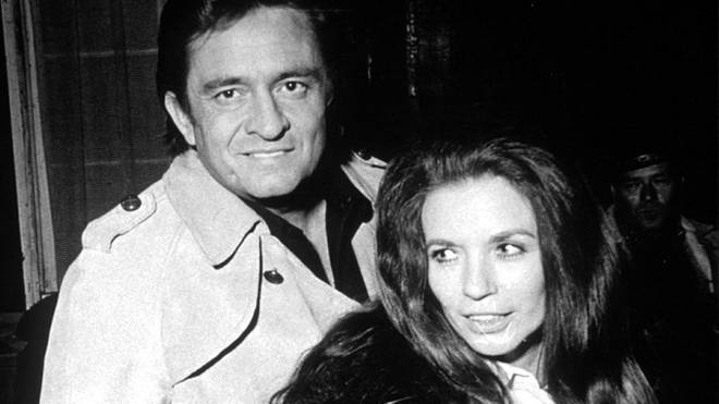 Johnny Cash and June Carter in 1970
