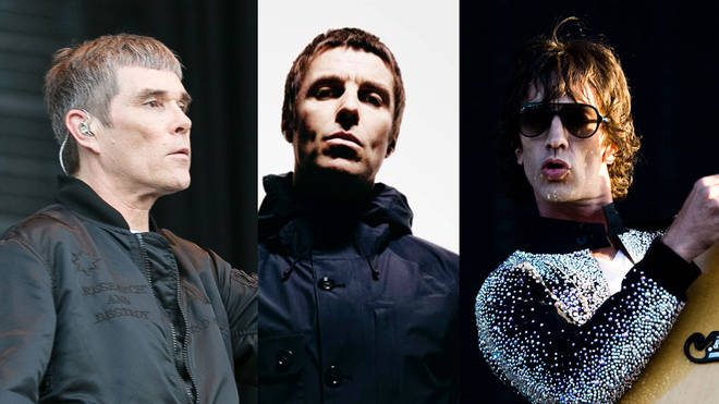 Ian Brown, Liam Gallagher and Richard Ashcroft