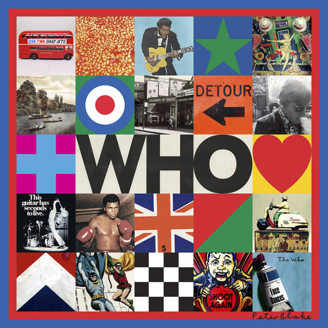 The Who share artwork for WHO album