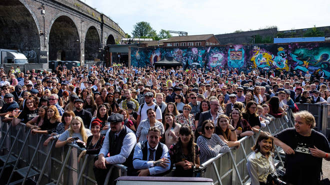 Fans gather at the inaugural Peaky Blinders Festival
