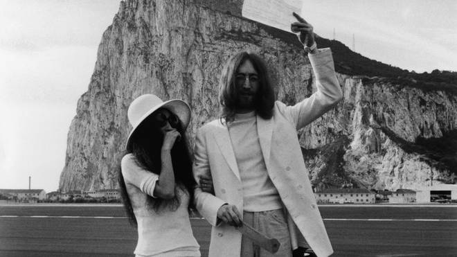 John Lennon marries Yoko Ono