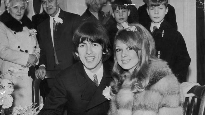 George Harrison marries Patti Boyd