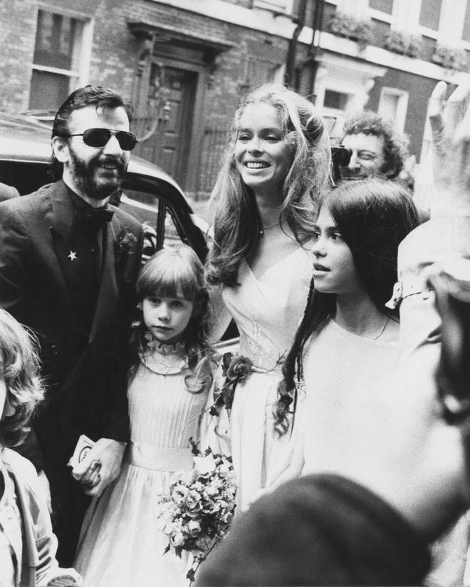 Ringo Starr marries Barbara Bach