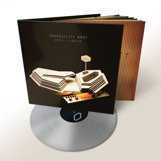 Arctic Monkeys - Tranquility Base Hotel & Casino silver vinyl