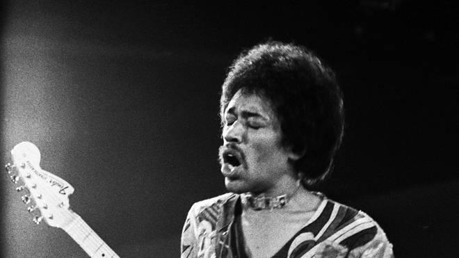 JIMI HENDRIX at Isle Of Wight Festival 1970