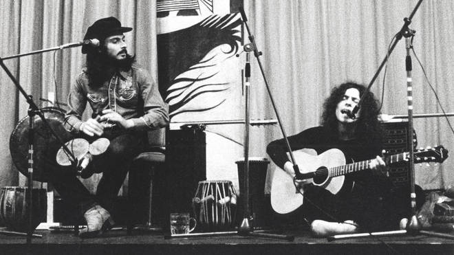Mickey Finn & Marc Bolan live at Redcar Jazz Club, 1970