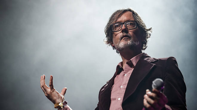 Jarvis Cocker performs in concert during Primavera Sound on June 1, 2019 in Barcelona, Spain.